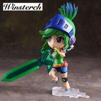LOL 14cm PVC Action Figure Recasting the broken sword Raven kids toy Online game collection doll heros figurine sb005