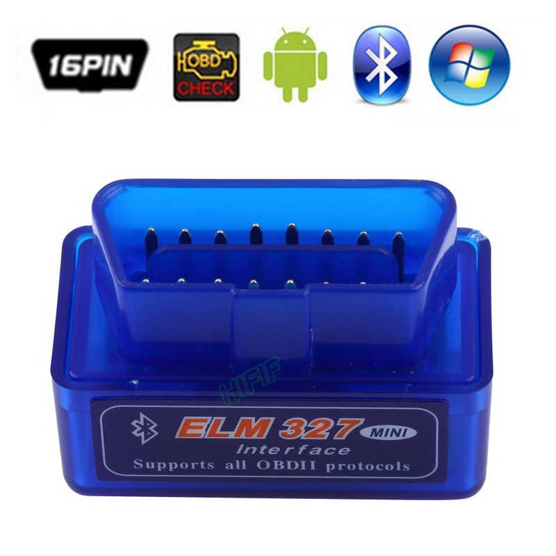 ELM327 Mini ULME 327 V2.1 OBD2 Bluetooth Interface Auto Scanner obd ii Diagnose-Tool funktioniert auf Android Symbian Windows-