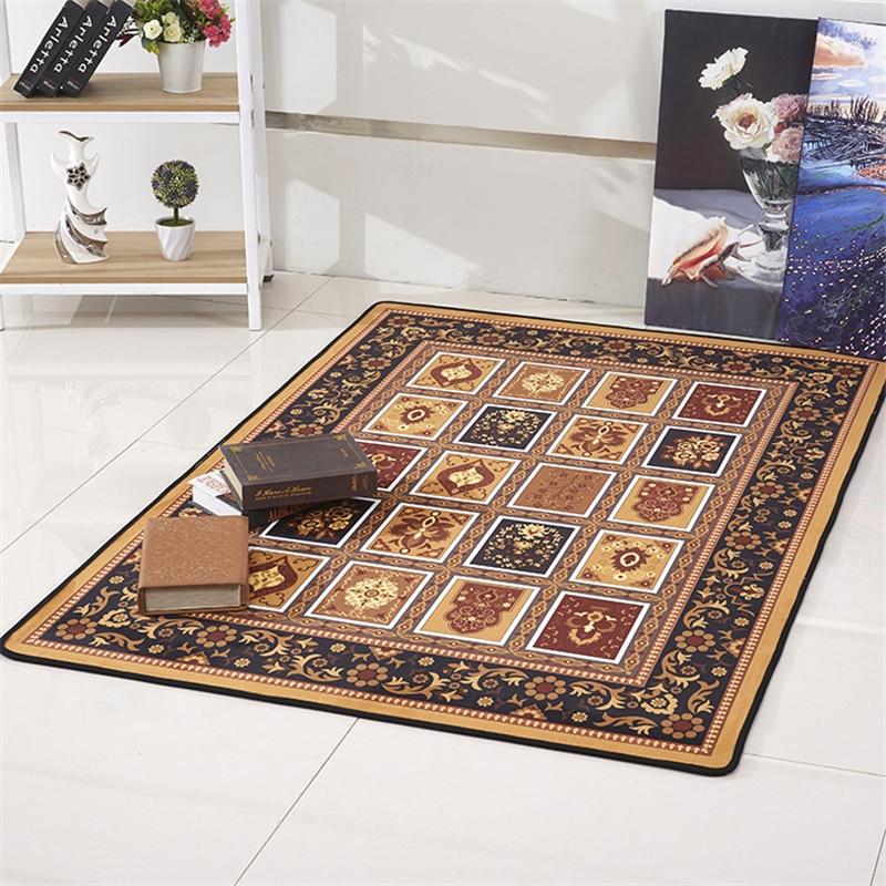 Us 16 26 Floral India Vintage Carpets For Living Room Large Parlor Rugs Carpet Bedroom Bathroom Non Slip Floor Door Mats Bedroom Carpet In Carpet