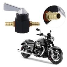 1 шт. универсальный 6 мм в линии бензин/Топливный Кран мотоцикл ВКЛ-ВЫКЛ Petcock топливный переключатель
