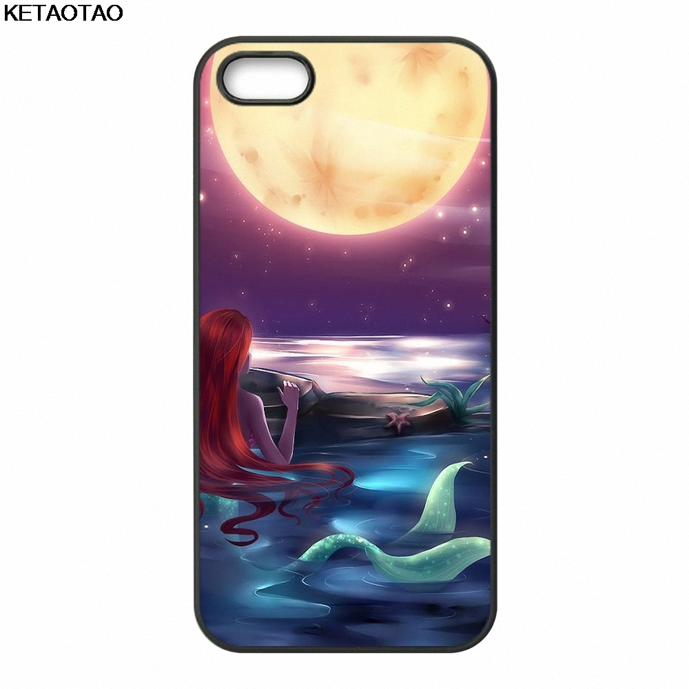 KETAOTAO Tattoo series small siren Ariel Phone Cases for Samsung S3 S4 S5 S6 S7 S8 S9 NOTE 4 5 7 8 Case Soft TPU Rubber Silicone