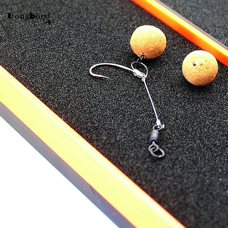 Premium Gold Rolling Swivels Sea Fishing ideal for Carp Sea Coarse x100 size 8