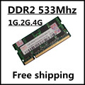 Venda de memoria ram ddr2 1 gb 2 gb 4 gb 533 Mhz pc2-4200 sodimm notebook, ram ddr2 2 gb 533 pc2 4200 laptop, so-dimm ddr2 2 gb 533 mhz
