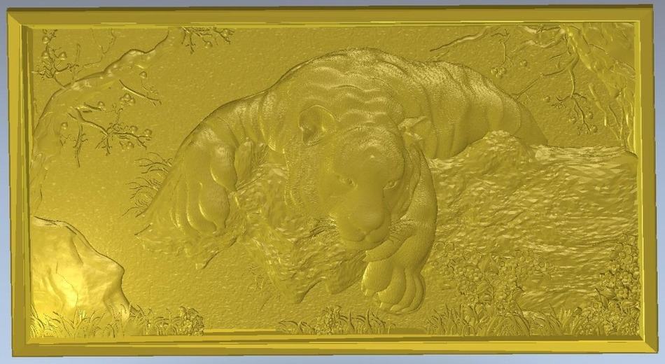 3d model relief  for cnc in STL file format Animals and Birds - 2 3d model relief for cnc in stl file format the girl from the bathroom