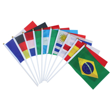Национальный флаг 11 стран мира баннер Бантинг 30,5*21 см Флаг вручную бразильский мексиканский Британский немецкий Американский национальный флаг