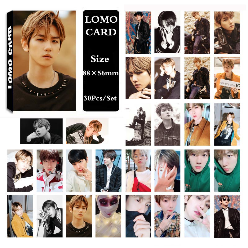 Lower Price with Yanzixg Kpop Exo Album Chanyeol Self Made Paper Lomo Card Photo Card Poster Hd Photocard Fans Gift Collection Jewelry Findings & Components