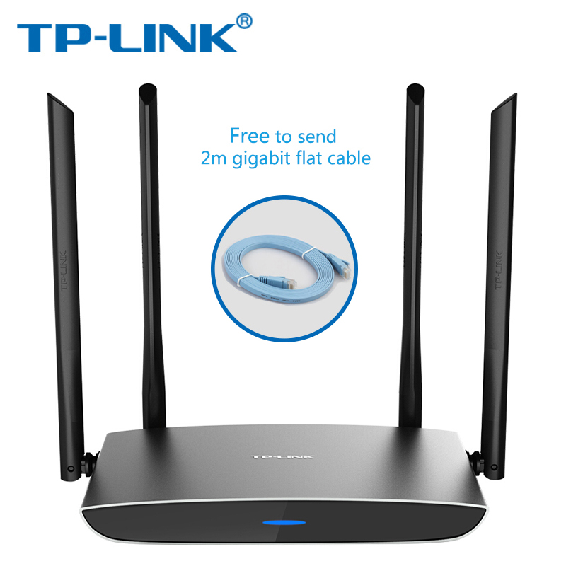 TP-Link Wireless Wifi Router  TP LINK AC1200 Dual-Band Wireless Router TL-WDR5820 802.11ac 2.4G 5.0G TP Link APP metal Routers d link dir 605l 802 11b g n 300mbps wifi wireless router black