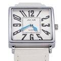 Das Mulheres da senhora Assistir Japão Relógio De Quartzo Horas de Relógio de Moda Vestido números Arábicos Pulseira de Couro Grande Presente de Aniversário Caixa de Presente