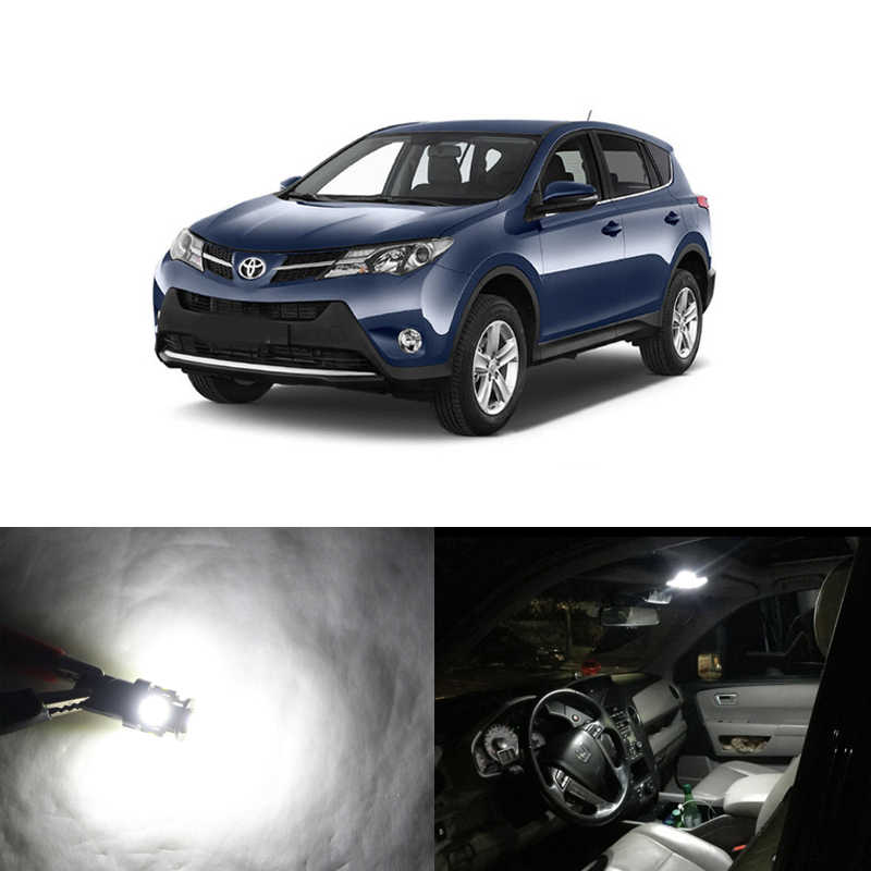 Can Bus Error Free White Led Light Package Kits For Toyota Rav4