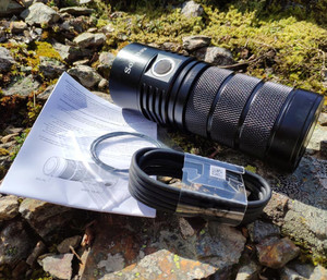 Image 5 - Sofirn BLF SP36 4*XPL2 6000LM Powerful LED Flashlight USB Rechargeable 18650 Multiple Operation Super Bright Torch Narsilm V1.2
