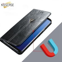 KISSCASE флип-чехлы чехол на айфон 8 7 6S 6 чехол для iPhone XS Max XR X 8 7 6S 6 Plus 5S Case кожа слот для карт памяти телефона Чехлы для Samsung Galaxy S8 S9 Plus Note 8 9 Cases