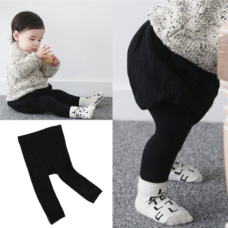 Baby Kid Comfort Leg Warmers Toddler Boys Girls Socks Jeggings 0-6 Years Y88 Winter Warm For Baby Girls Boys
