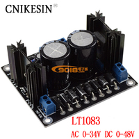 Sliding Type LT1083 High Power Adjustable Voltage Stabilizing Power Supply Board HIFI Linear Power Output