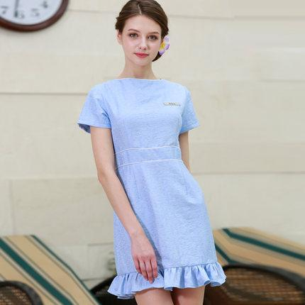 New Arrivals Beauty Work Uniform Short Sleeve Summer SPA Dress Sky Blue Nice Nurse Uniform High Quality Pink Work Clothes