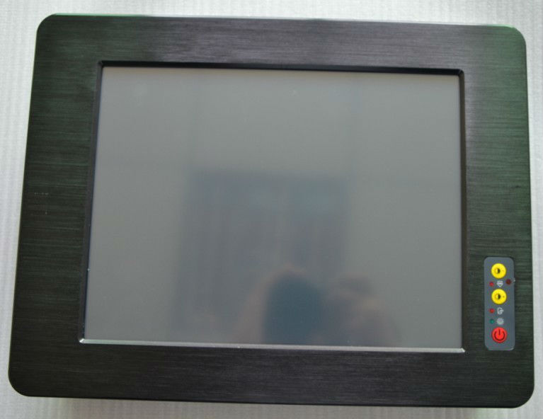 15 Inch Embedded Touch Screen All In One Pc Fanless Industrial Panel Pc With 4*com Ports/ 9v-25v Power Supply