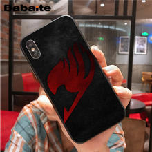 Fairy Tail Soft Silicone TPU Phone case for iphone
