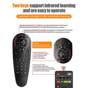 Image 5 - G30S Voice Control 2.4G Wireless Air Mouseคีย์บอร์ดสำหรับGyroscope Motion SensingรีโมทคอนโทรลMINIสำหรับAndroid TVกล่องH96