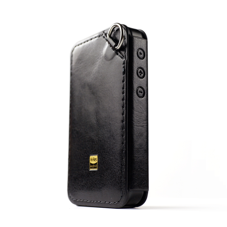DD C M6 Leather Case for FiiO M6 Music Player Hi res DAP M6 Leather cover Black in MP3 Players Amplifier Accessories from Consumer Electronics