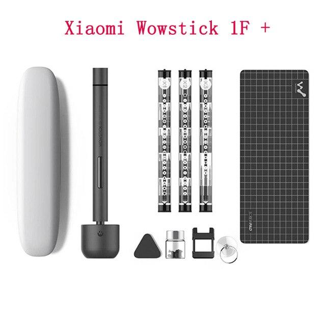 Original XIAO mi mi jia Wowstick 1F + 64 en 1 tournevis électrique mi sans fil Lithium-ion Charge alimentation LED vis mi jia kit de pilote