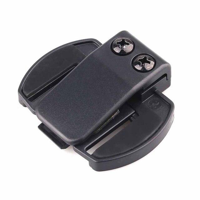 2 pcs Fodsports V6 V4 Casco Clip Auricolare del casco Del Motociclo citofono Clip Del Motociclo di Bluetooth Intercom Accessori Staffa