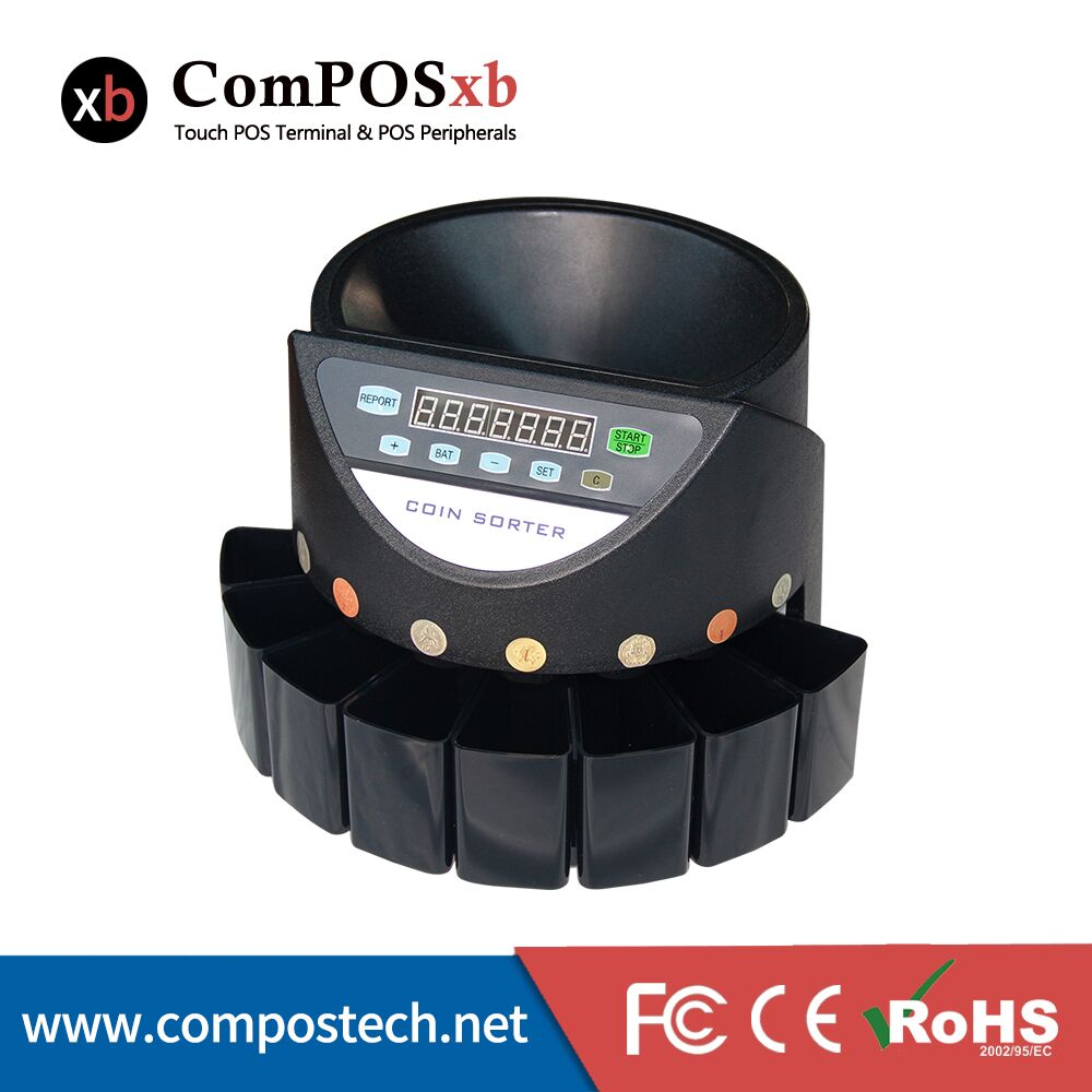 Made-in-China factory sale coin counter for supermarket