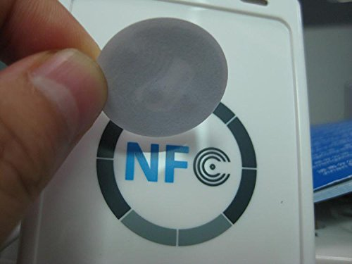 ntag203 (pack of 10) NFC Tags for NFC phone compatible with all nfc android phone waterproof nfc tags lable ntag213 13 56mhz nfc 144bytes crystal drip gum card for all nfc enabled phone min 5pcs