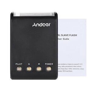 Image 5 - Andoer WS 25 Mini esclavo Digital portátil, Flash Speedlite, con zapata Universal, GN18, para Canon, Nikon, Pentax, Sony