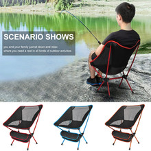 Portable Camping Chair Seat for Outdoor Fishing Hiking Picnic Beach Chair Folding Stool fishing chair Folding Chair yleo outdoor fishing chair bag folding camping stool portable picnic bag hiking seat beach chair set fishing