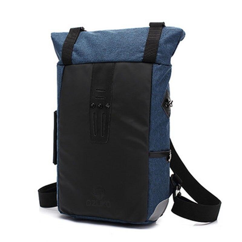 YISHEN Men's Multifunctional Fashion Backpack Casual Large Capacity Travel Backpack Canvas Male Computer Bag Big Rucksack JY8841
