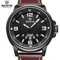 2017 Victory New Luxury Brand Leather Strap Analog Men Quartz Date Clock Fashion Casual Sports Watches Men Military Wrist Watch