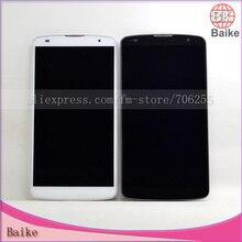 Pantalla lcd original para lg g pro 2 f350 d830 d837 d838 lcd pantalla digitalizador asamblea con marco negro/blanco