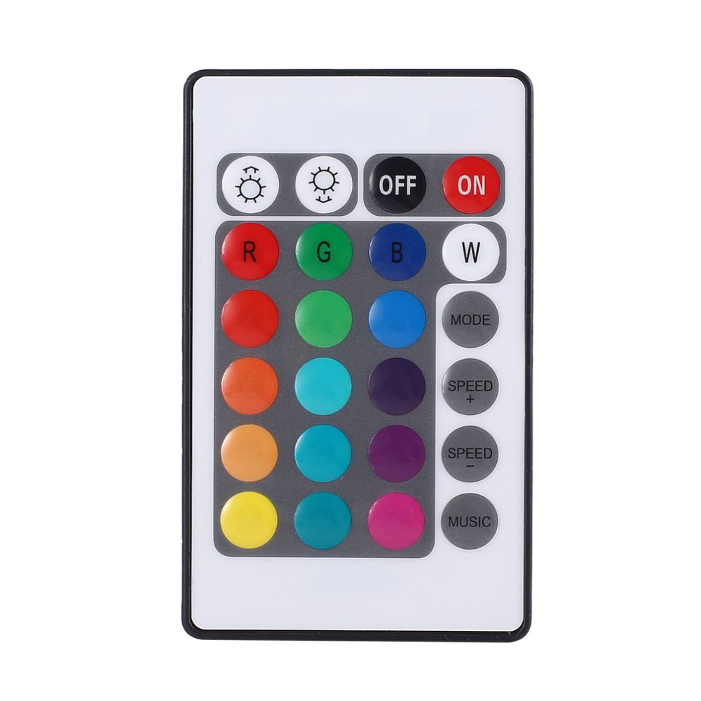 2018 Новый 12 В мини RGB светодиодный Управление коробка + Беспроводной удаленного Управление Лер + Адаптеры питания комплект для Красочные Музы...