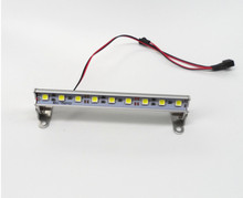 Model remote control toy car dome light climbing searchlight lamp DIY model lamp 3S lithium battery 11.1V power supply