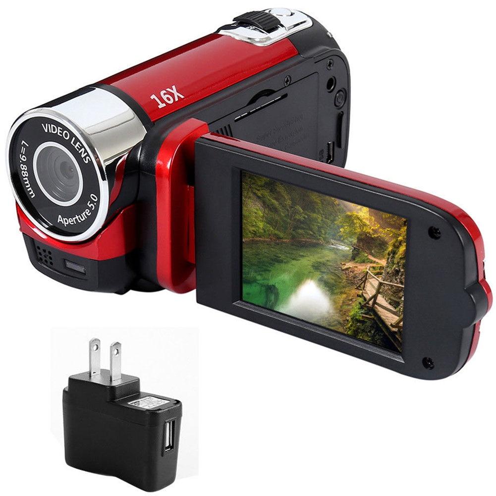 HTB1hn30KCzqK1RjSZFjq6zlCFXar Digital Camera 1080P Video Record Clear Night Vision Anti-shake LED Light Timed Selfie Professional Camcorder High Definition