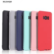 Ultra Thin Matte Silicone Case For Samsung Galaxy S8 S9 S7 Edge Note 8 9 A5 A3 A7 J3 J5 J7 2016 2017 J4 J6 Plus 2018 Soft Cover(China)
