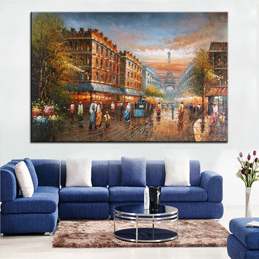 Extra Large Wall pintura de calle Luces inicio Oficina Decoración ...