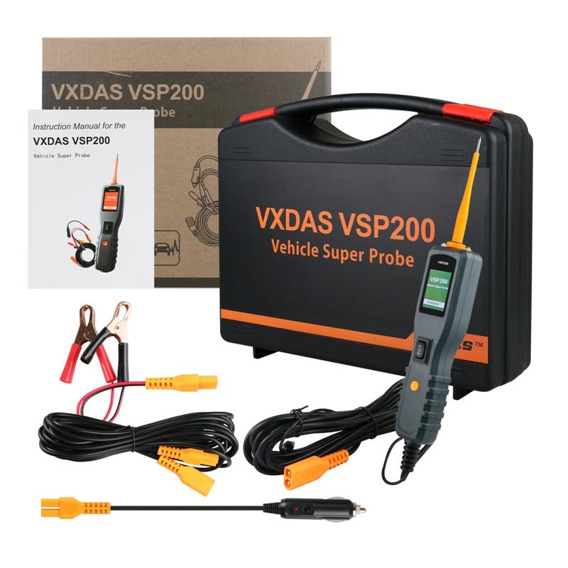 VXDAS VSP200 Vehicle Super Probe Circuit Tester Kit More Powerful than AUTEK YD208 Car Electric Circuit Tester for 12V-24V стоимость