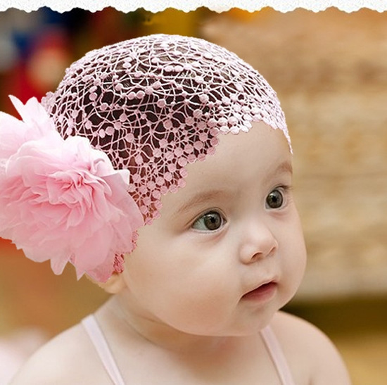 baby girl headband Infant hair accessories clothes band newborn   Headwear   tiara headwrap hairband Gift Toddlers Flower Lace