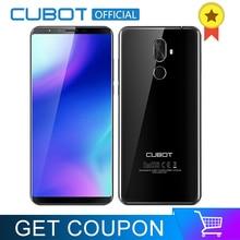 Cubot X18 Artı 18:9 5.99 ''4 GB 64 GB 2160*1080 Android 8.0 MT6750T Octa Çekirdekli 4G Cep Telefonu Çift Arka Kameralar 4000 mAh...