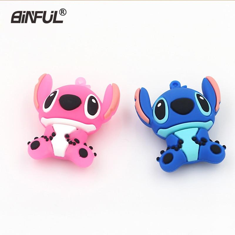 Cute Catoon USB Flash Drive 64GB 32GB 4GB 8GB 16GB Cartoon Animal Pen Drive Flash Memory Pen Drive Stick U Stick