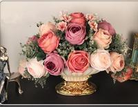 Таблица цветов модные цветочный набор искусственный цветок Шелковый цветок гостиная украшения