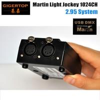 Freeshipping 5 PIN Martin Light Jockey 1024 Kanäle DMX IN/OUT Erste Generation Belgien Design 90702070 Serielle No. 0404700068-in Bühnen-Lichteffekt aus Licht & Beleuchtung bei