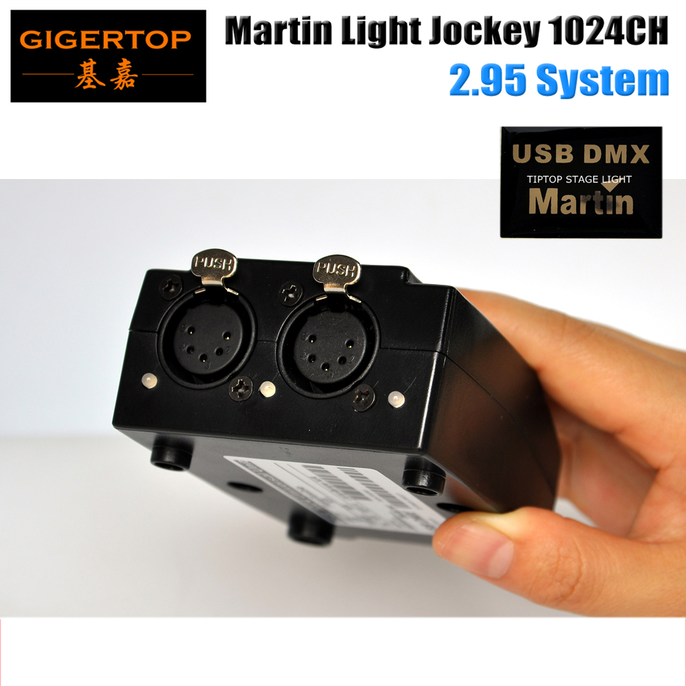 Freeshipping 5PIN Martin Light Jockey 1024 Channels DMX IN OUT First Generati
