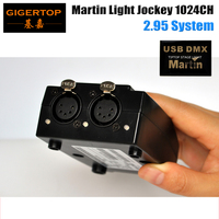 Freeshipping 5PIN Martin Light Jockey 1024 Channels DMX IN/OUT First Generation Belgium Design 90702070 Serial No. 0404700068