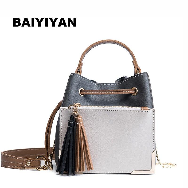Fashion Hit Color Handbags High Quality brand PU leather bag vintage handbag womens tote bags Ladies crossbody bags