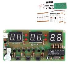 C51 Digital Electronic Clock Suite DIY Kits Six 6 Bits Electronic