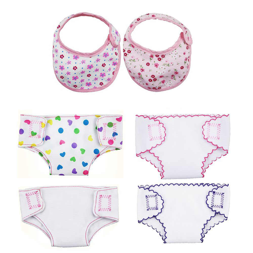 2Pcs 43cm  Doll Or 18 Inch  Doll Clothes Underpants ^
