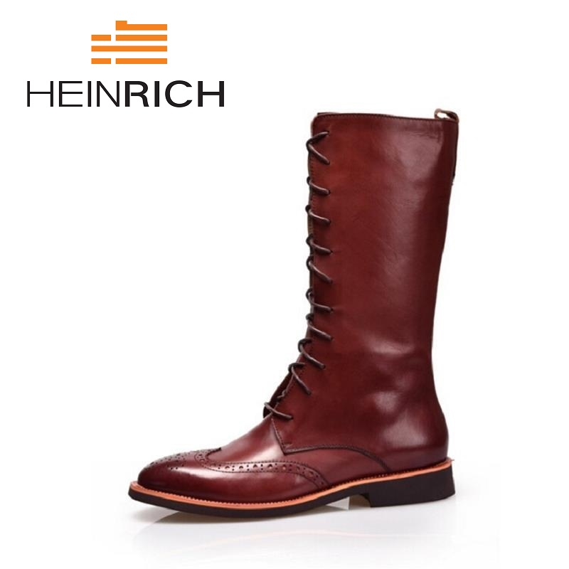 HEINRICH Winter  Military Boots High Top Men Shoes Leather Men Boots Brand Tactical Combat Boots Sapatos MasculinoHEINRICH Winter  Military Boots High Top Men Shoes Leather Men Boots Brand Tactical Combat Boots Sapatos Masculino