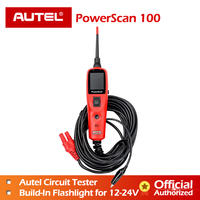 Autel PowerScan PS100 Electrical Tester &Test Leads Circuit Tester Diagnostic Electrical System 12v 24v power scanner PS 100