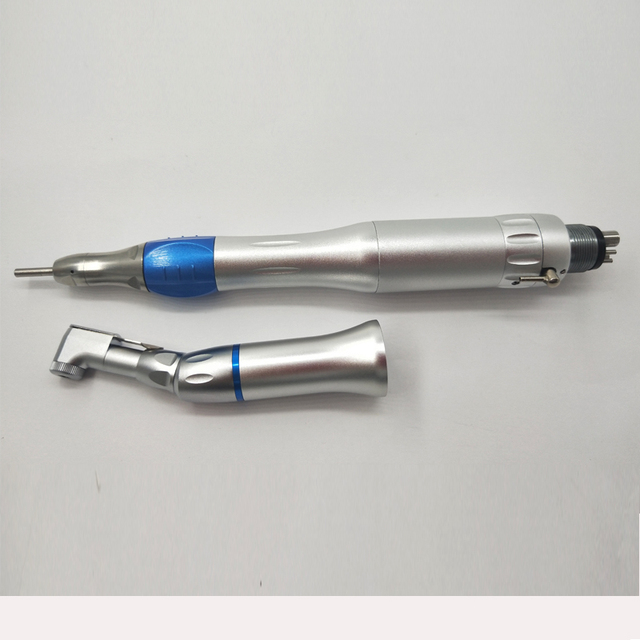 2/4 Hole Dental Low Speed Handpiece Air Turbine Straight  Contra Angle Air Motor  Turbine Handpiece For Dental Chair Equipment